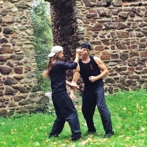 Wing Chun Training Mirko und Kerstin
